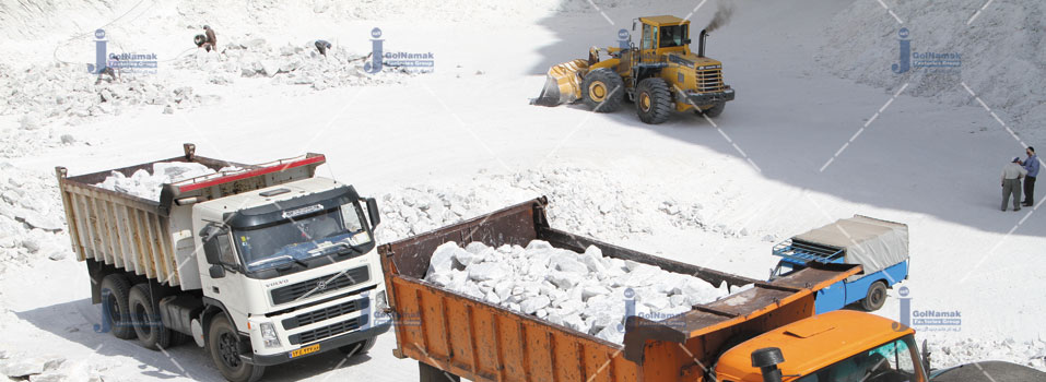 Golnamak.com-rock salt transport